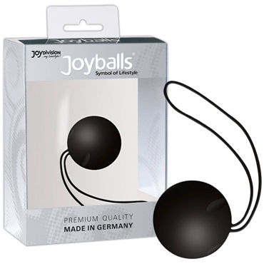 Joy Division Joyballs Trend, черный Вагинальный шарик joy division joyballs trend черные вагинальные шарики