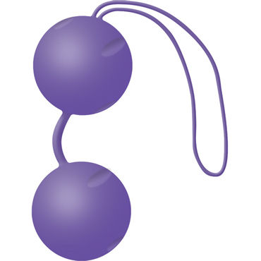 Joy Division Joyballs Trend, фиолетовые Вагинальные шарики ж kiss me 4ever yourself