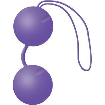 Joy Division Joyballs Trend, фиолетовые Вагинальные шарики joy division the pleasure box 3 набор с красными вагинальными шариками