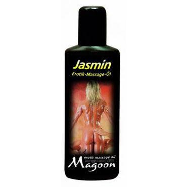 Magoon Jasmin, 100мл Массажное масло с ароматом жасмина podium ошейник черно красный на мягкой подкладке