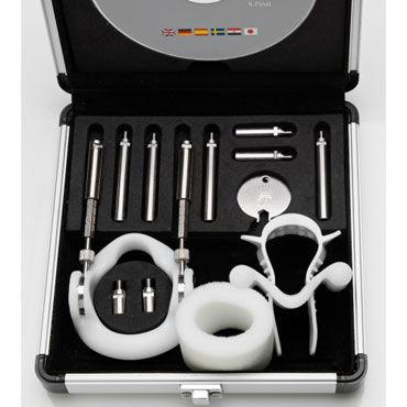 Jes Extender Titanium Комплект для увеличения пенис набор расширителей бюстгалтера bra extender застёжка 1 крючок