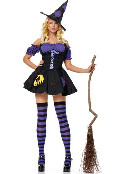 Le Frivole Ночная ведьмочка Платье и шляпка le frivole главный врач платье чепчик ремень и нарукавник