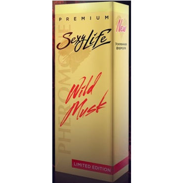 SexyLife Wild Musk №9 Dark Purpler, 10мл Духи для женщин духи wild musk 1 sexy life духи wild musk 1