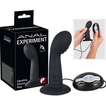 You2Toys Anal Experiment Butt Plug, черный Вибровтулка анальная с пультом prostate massager vibrating anal plug 12 mode silicone anal sex toy anal vibrator butt plug erotic sex product for women