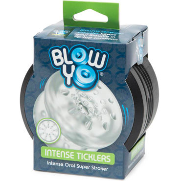 BlowYo Intense Ticklers, белый Стимулятор для пениса щ zini deux черно фиолетовый