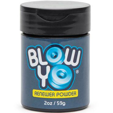 BlowYo Renewer Powder, 59 г Порошок для ухода за стимулятором BlowYo презервативы luxe trio скоростной спуск 3