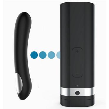 Kiiroo Onyx 2 & Pearl 2 Couples' Set, черный Набор для секса на расстоянии, мастурбатор + вибратор виброяйцо ovo r6 remote на дистанционном управлении белое