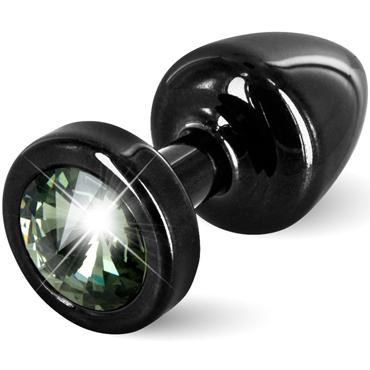 Diogol Anni, черная Втулка с зеленым кристаллом Swarovski diogol anni round t1 золотая долина