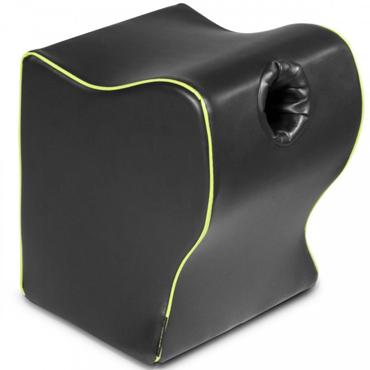 Liberator Fleshlight Mount Top Dog, черная Подушка для любви с отверстием для мастурбатора Fleshlight liberator axis бордовая подушка для секса с креплением для hitachi magic wand