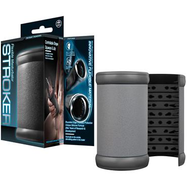 NMC Flexible Stroker, серый Открытый мастурбатор nmc криптовалюта