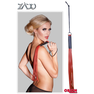 Zado Leather Whip, красная Плетка кожаная и baci essential satin amp leather corset