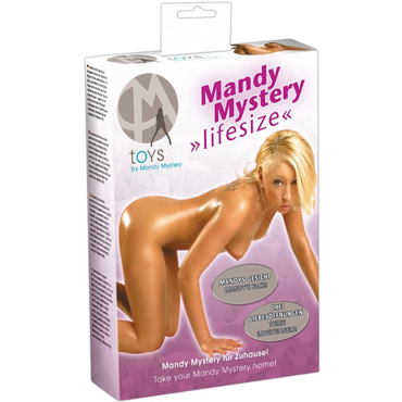 Orion Mandy Mystery, телесная Секс кукла с лицом Mandy Mystery durex air condom