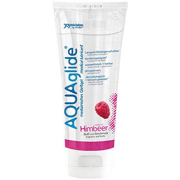 Aquaglide Raspberry, 100 мл Лубрикант на водной основе с ароматом малины unilatex classic интимный гель лубрикант на водной основе 80 мл