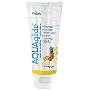 Aquaglide Exotic, 100 мл Лубрикант на водной основе с ароматом тропических фруктов spring aromantic презервативы с ароматом тропических фруктов