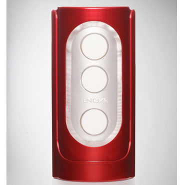 Tenga Flip Hole, красный Многоразовый многофункциональный мастурбатор промо листовка а7 двусторонняя nexus revo stealth tenga