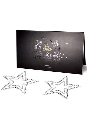 Bijoux Mimi Star, серебристое Украшение для груди