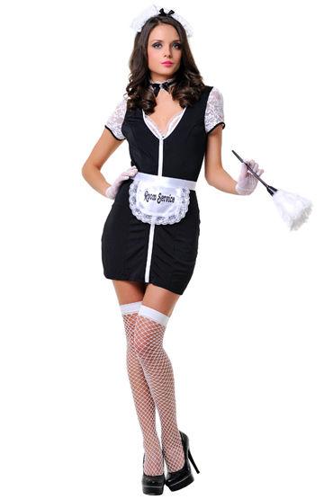 Le Frivole Недоступная горничная Сексапильный костюм для ролевых игр le frivole стюардесса премиум класса синий костюм для ролевых игр