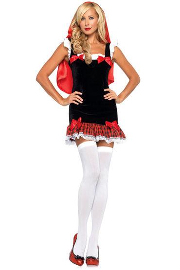 Le Frivole Юная Красная Шапочка Мини-платье с накидкой lux lab молоточек ютуб