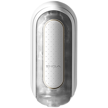 Tenga Flip Zero Electronic Vibration, белый Мастурбатор c уникальным рельефом, эффектом вакуума и вибрацией funny steel anal plug medium серебристый розовый анальная пробка с кристаллом