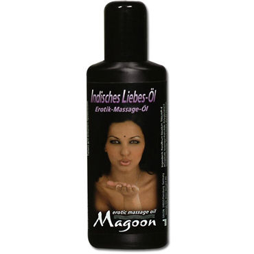 Magoon Indian Love, 50 мл Ароматизированное массажное масло а shiatsu luxury body oil strawberry 100 vk