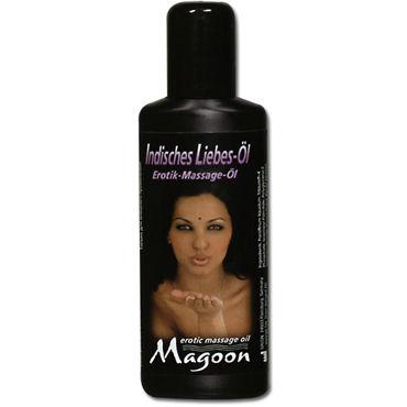 Magoon Indian Love, 50 мл Ароматизированное массажное масло shots toys bottom line butt plug model 6 13 см черная анальная елочка