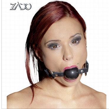 Zado Кляп Кожаный кляп baile rotate vibrator вибратор с ротацией