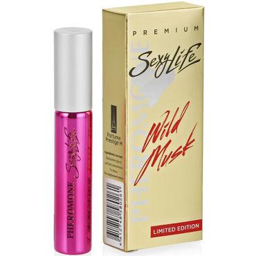 Sexy Life Wild Musk №2 La vie est belle, 10мл Женские духи с мускусом и двойным содержанием феромонов sexylife wild musk 7 honey aoud montale 10мл духи для женщин