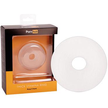 Pornhub Thick Stamina Ring, прозрачное Кольцо для пениса кольцо с бусиной basic essentials teaser ring