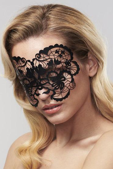Bijoux Indiscrets Anna Mask, черная Маска маскарадная