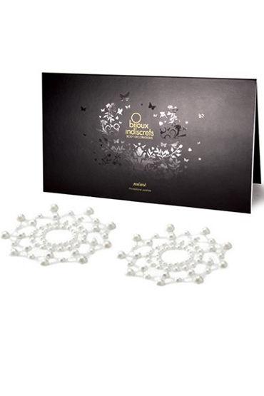 Bijoux Indiscrets MiMi, жемчужное Украшение для груди браслеты bijoux land браслет