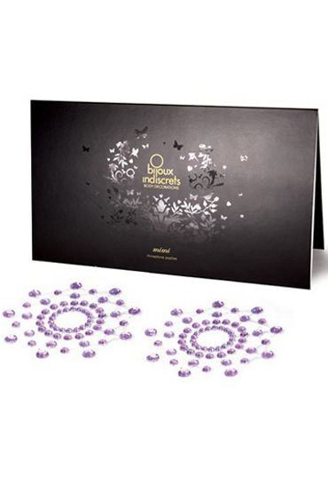 Bijoux Indiscrets MiMi, фиолетовое Украшение для груди