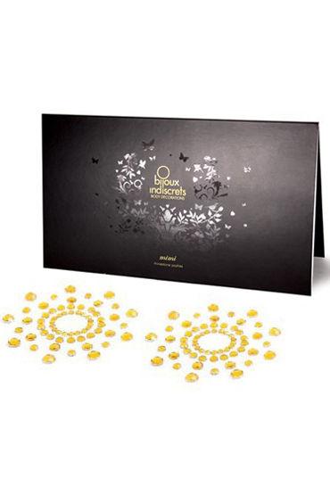 Bijoux Indiscrets MiMi, золотое Украшение для груди