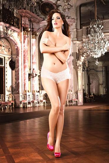 Baci трусики, белые Классические шортики из кружева популярные товары для взрослых baci lingerie женское нижнее белье
