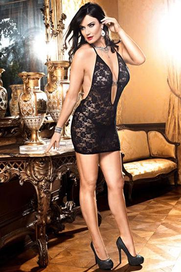 Baci комбинация, черная С глубоким декольте популярные товары для взрослых baci lingerie женское нижнее белье