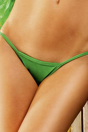 Baci трусики, зеленые V-образные чулки baci lingerie nurse patch высокие в крупную сетку черные 42 46