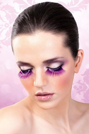 Baci Lashes, фиолетовый Накладные ресницы baci lashes красно фиолетовый накладные ресницы с перьями
