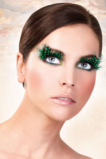 Baci Lashes, темно-зеленый Накладные ресницы с перьями baci lashes deluxe черный накладные ресницы