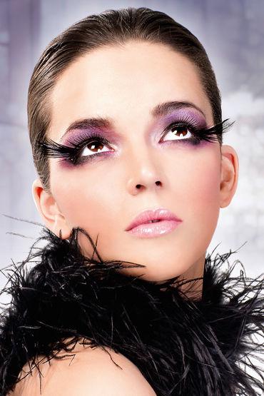 Baci Lashes, черный Накладные ресницы с перьями baci lashes черный накладные ресницы с перьями