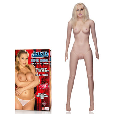 California Exotic Vivid Raw Super Model Love Doll Секс-кукла в натуральную величину california exotic tantric satin ties атласные манжеты на руки