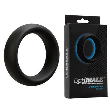 Doc Johnson Optimale C-Ring Thick 4,5см Эрекционное кольцо толстое blue line steel cock ring 3 3 см стальное эрекционное кольцо