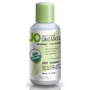System JO Organic, 60 мл Гипоаллергенный лубрикант на водной основе тестер system jo organic naturalove органический лубрикант на водной основе с экстрактом ромашки