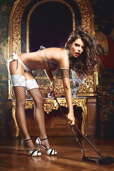 Baci Dreams Five Star French Maid Чулки в крупную сетку le frivole сержант лиф юбка головной убор перчатки чулки