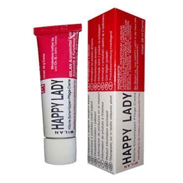 Milan Happy Lady, 28 мл Стимулирующий крем для женщин с viamax tight gel 15 vk