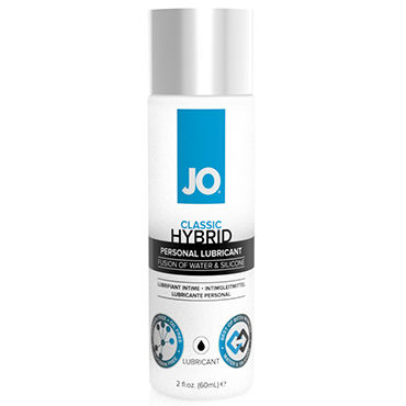 System JO Hybrid Lubricant, 60мл Лубрикант на водно-силиконовой основе pjur мужской лубрикант pjur superhero lubricant 30 мл