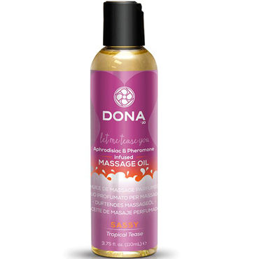 Dona Scented Massage Oil Sassy Aroma Tropical Tease, 110 мл