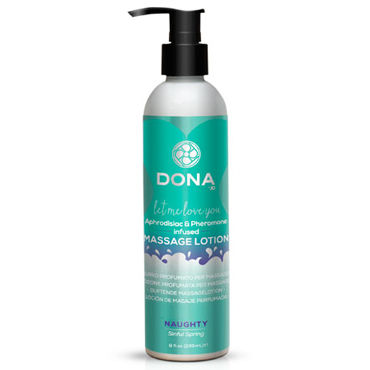 Dona Massage Lotion Naughty Aroma Sinful Spring, 235 мл