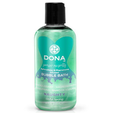 Dona Bubble Bath Naughty Aroma Sinful Spring, 240 мл