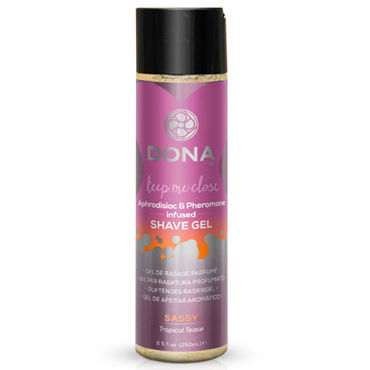 Dona Shave Gel Sassy Aroma Tropical Tease, 250 мл