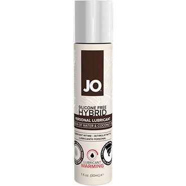 System Jo Hybrid Warming, 30 мл Возбуждающий лубрикант на основе воды и кокосового масла system jo all in one fragrance free 120мл массажное масло и лубрикант без запаха