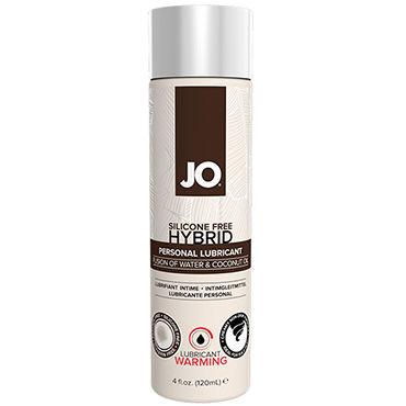System Jo Hybrid Warming, 120 мл Возбуждающий лубрикант на основе воды и кокосового масла смазки усиливающие ощущения другой мир